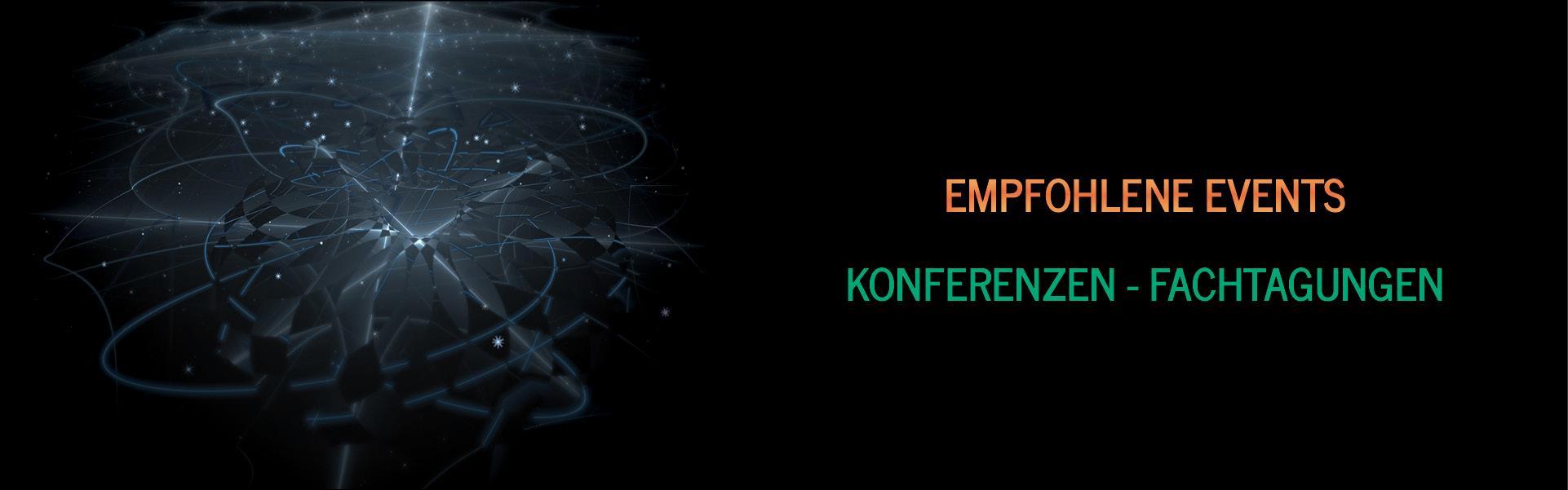 Empfohlene Events, Konferenzen und Veranstaltungen