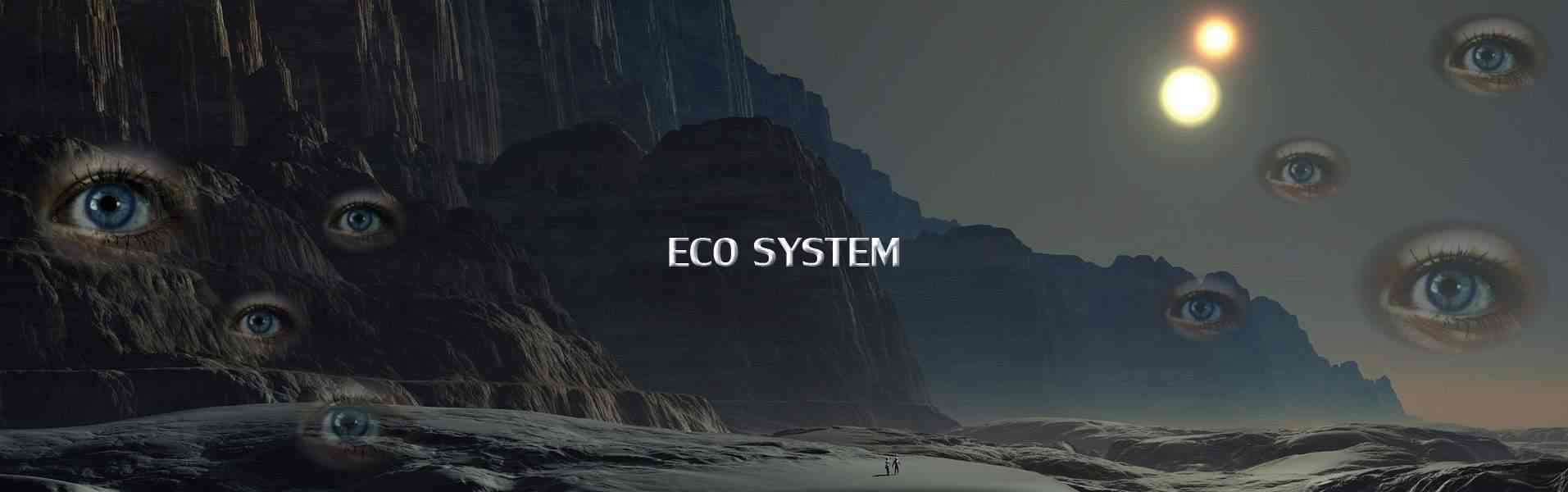 Eco system of spy novel Project Black Hungarian