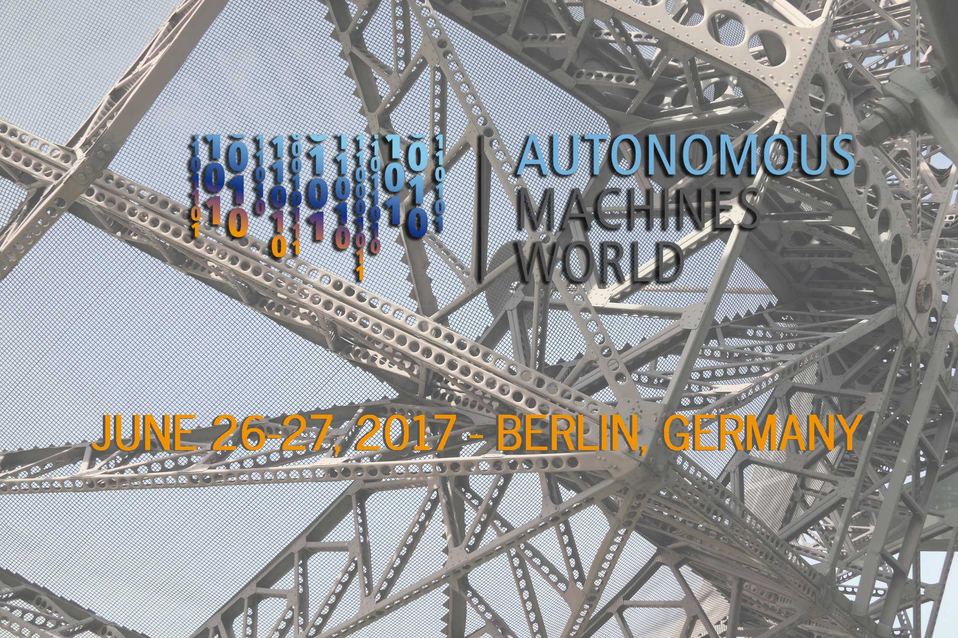 Autonomous Machines World 2017 Industry Event Berlin June 26-27