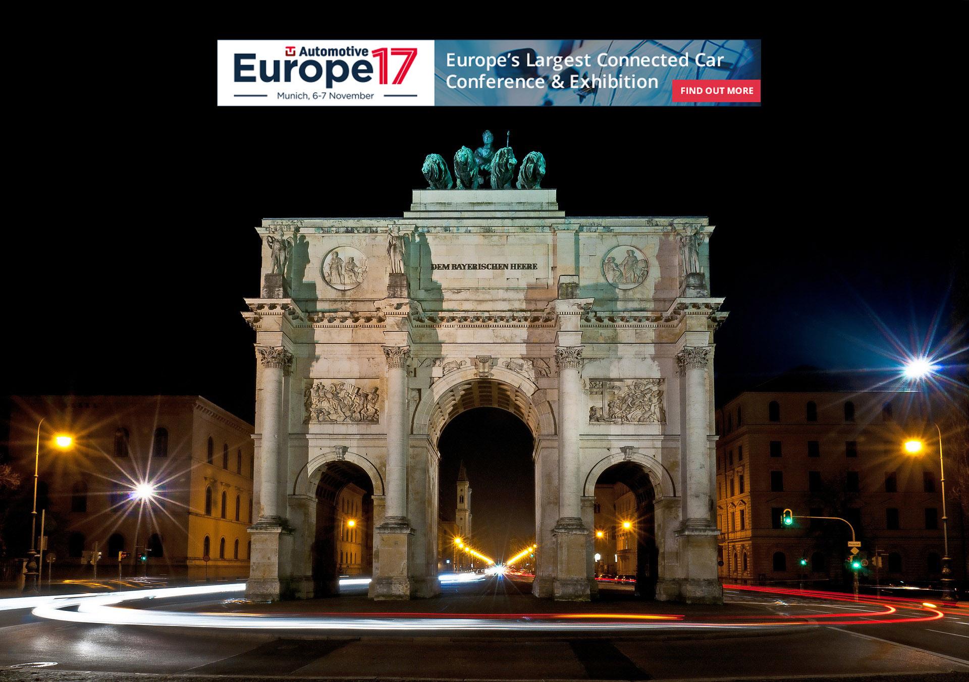 TU Automotive Europe 2017, Nov 6-7, Munich