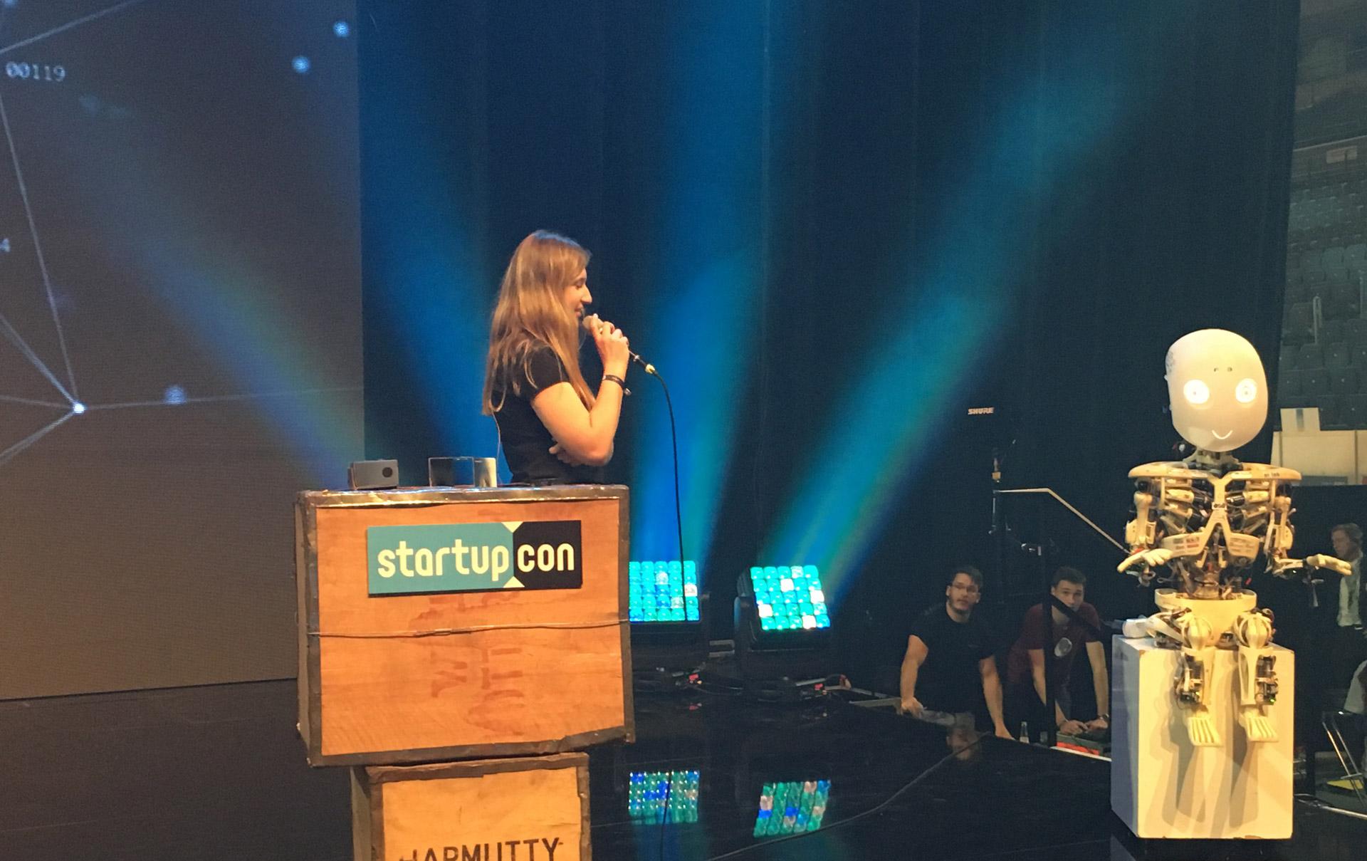 StartupCon 2017 - Increasing diversity