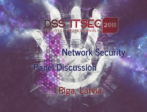 DSS IT SEC 2018: Economics of Cybercrime – Network Security Panel (EN)